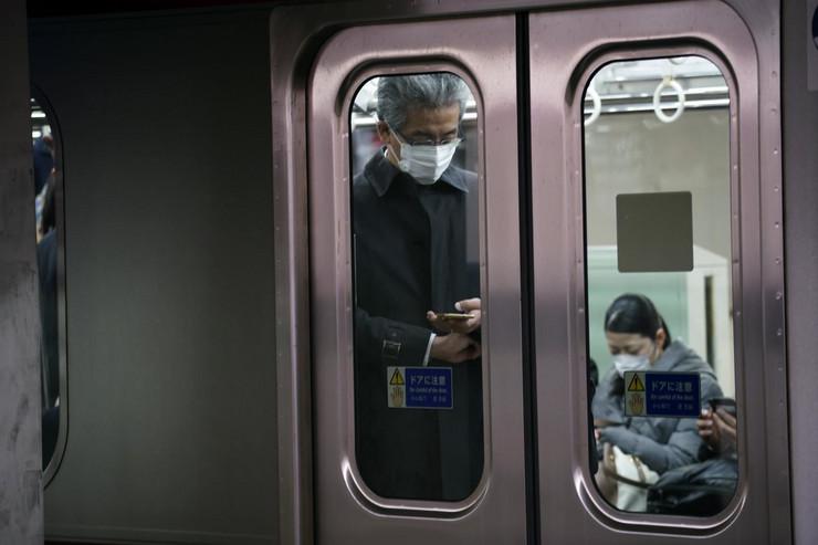 Tokio koronavirus maske