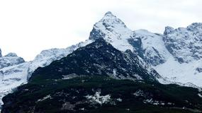 Pierwszy tego lata śnieg na szczytach Tatr