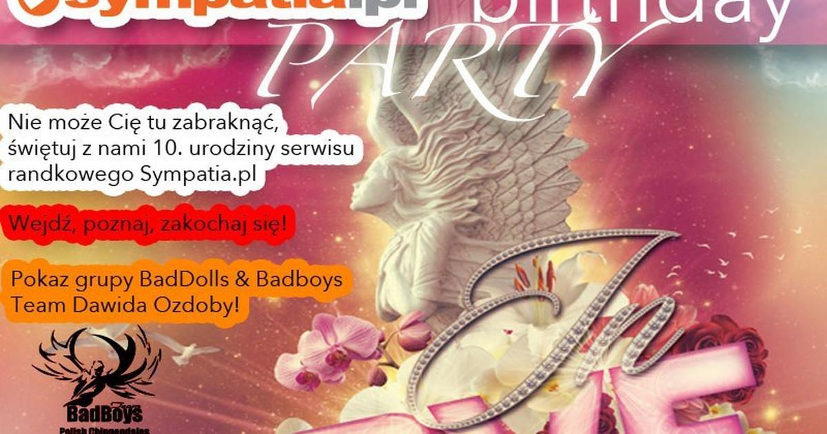 Portal randkowy Sympatia.pl świętuje swoje 10. urodziny w