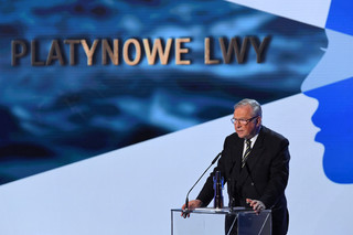 44. FPFF w Gdyni: Krzysztof Zanussi odebrał Platynowe Lwy za całokształt twórczości