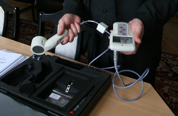 Urządzenie do pomiaru radioaktywności