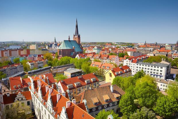 Widok na Szczecin