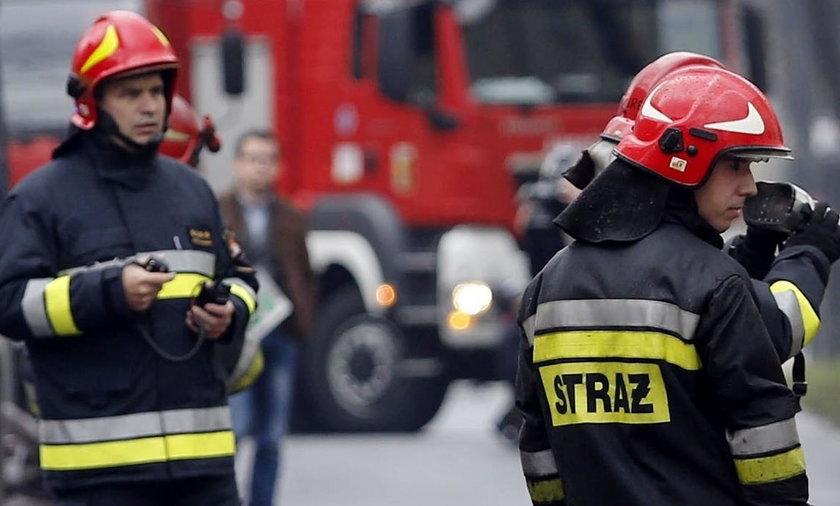 Wypadek awionetki w Mielcu. Rozbiła się awionetka, są ofiary