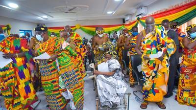 We're sorry NPP didn't win any parliamentary seat in Oti Region – Chiefs beg Nana Addo