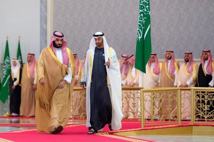 Bin Salman i Bin Zajed