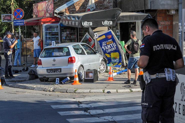Kragujevac, udes, trafika, dva udesa na istoj raskrsnici, Bubanj