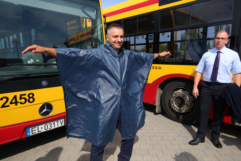 nowe ubiory służbowe MPK Łódź z Telimenty