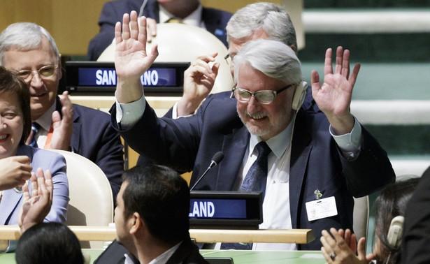 Chcielibyśmy, żeby Rada Bezpieczeństwa była przejrzysta, aby świat wiedział o jej pracach, bo często nawet nie kojarzy, które państwa uczestniczą w danych latach w pracach Rady Bezpieczeństwa.
