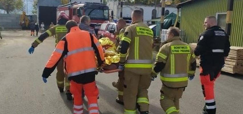 Drewniana listwa przebiła młodą kobietę na wylot. Horror w Słońsku