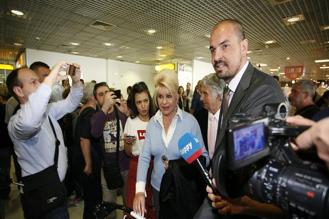 Gospođa Tramp sletela u Beograd: Prvi put u našoj prestonici a OVO JE RAZLOG