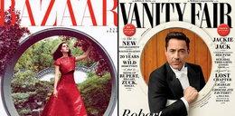 Katy Perry i Robert Downey Jr w kole