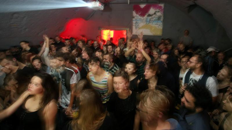 Impreza w klubie Pauza w Krakowie