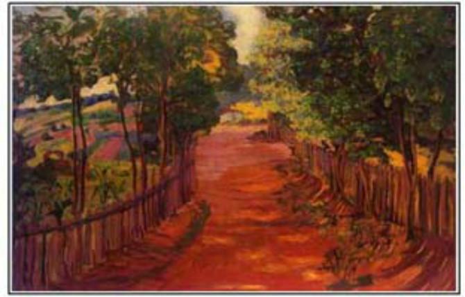 Resnik, 1904, jedno od najpoznatijih dela Nadežde Petrović