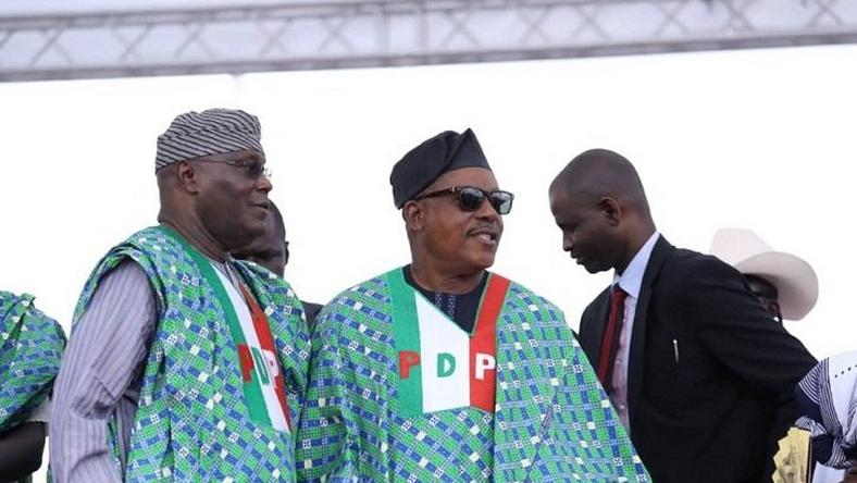 Image result for How Atiku  Uche Secondus PDP