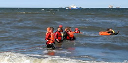 Dramat na plaży w Gdańsku! Tonęło dwóch nastolatków. Obaj nie żyją
