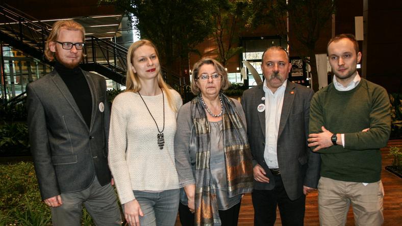 W konferencji udział wzięli działacze Stowarzyszenia Lepszy Gdańsk, Inicjatywy Polskiej i Ruchu Sprawiedliwości Społecznej