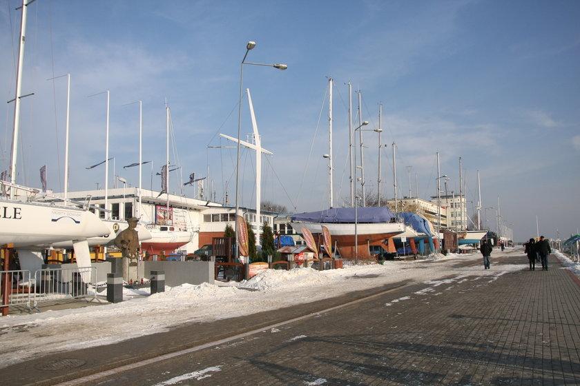 obecna marina w Gdyni