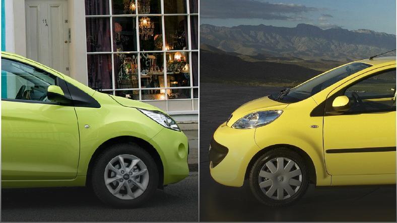 Ford Ka Vs Peugeot