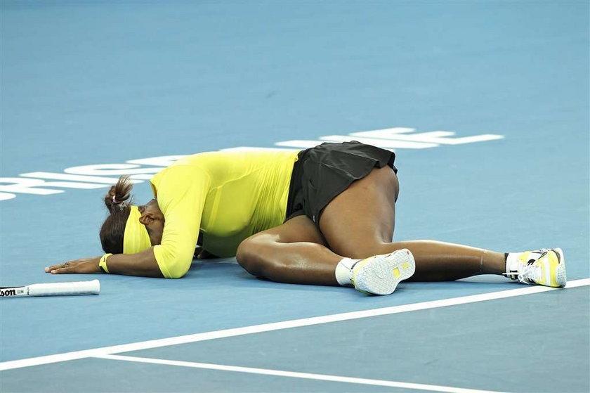 Serena Williams skręciła kostkę
