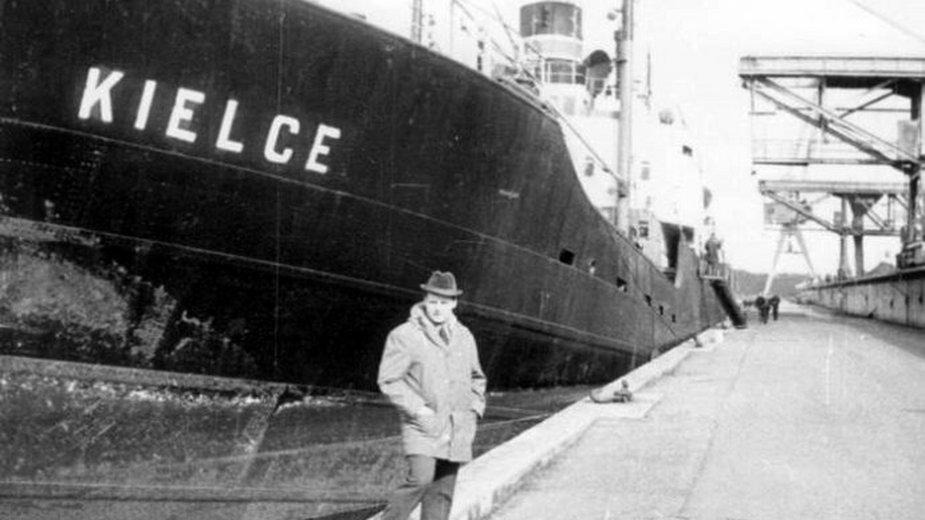 Frachtowiec SS Kielce