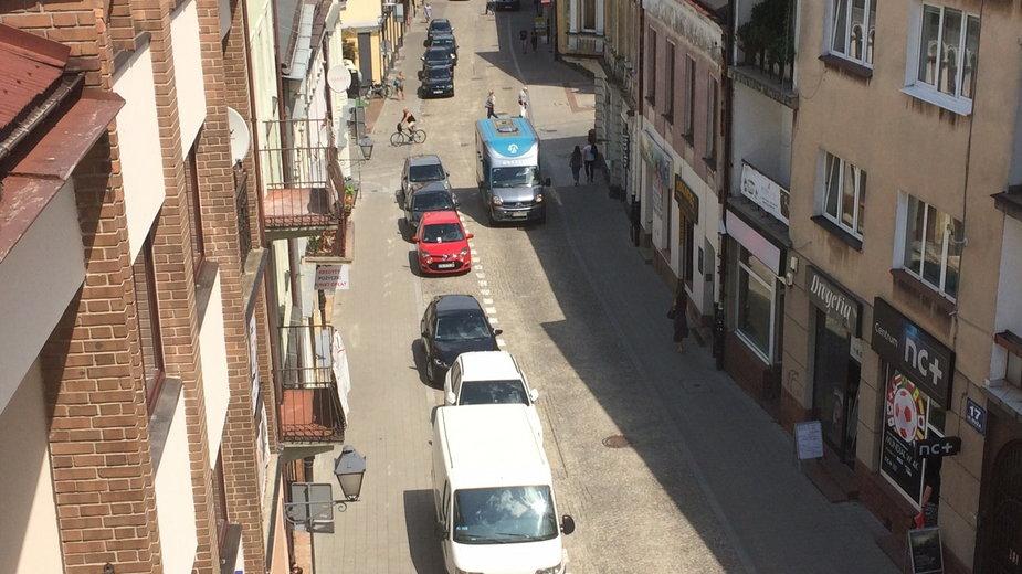 Strefa parkowania w Kielcach