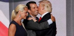 Synowa Trumpa w szpitalu. Co się stało?