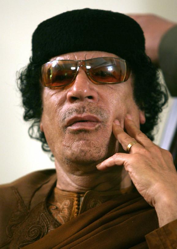 Obožavan: Moamer el Gadafi