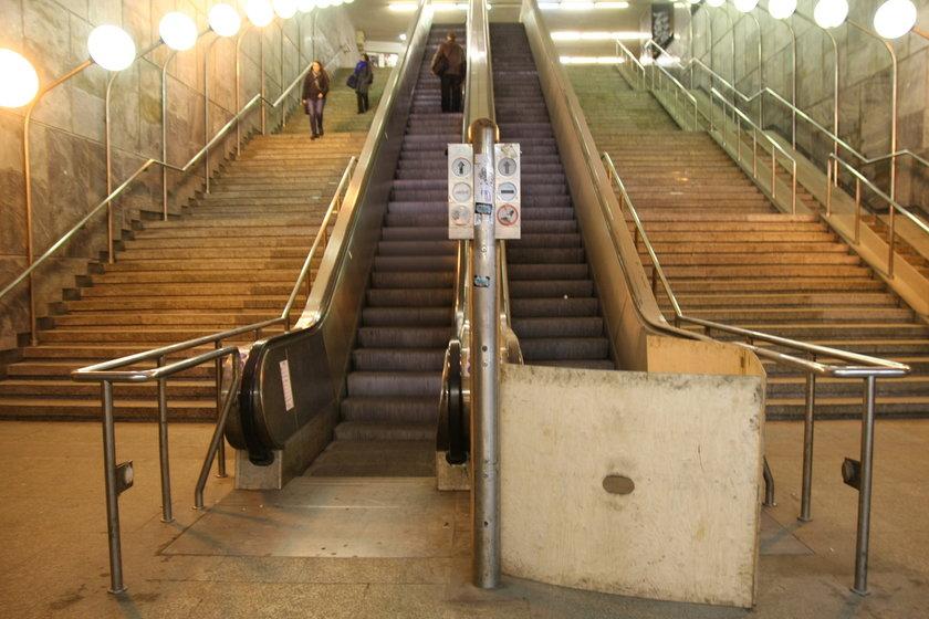 Ruchome schody w Gdańsku