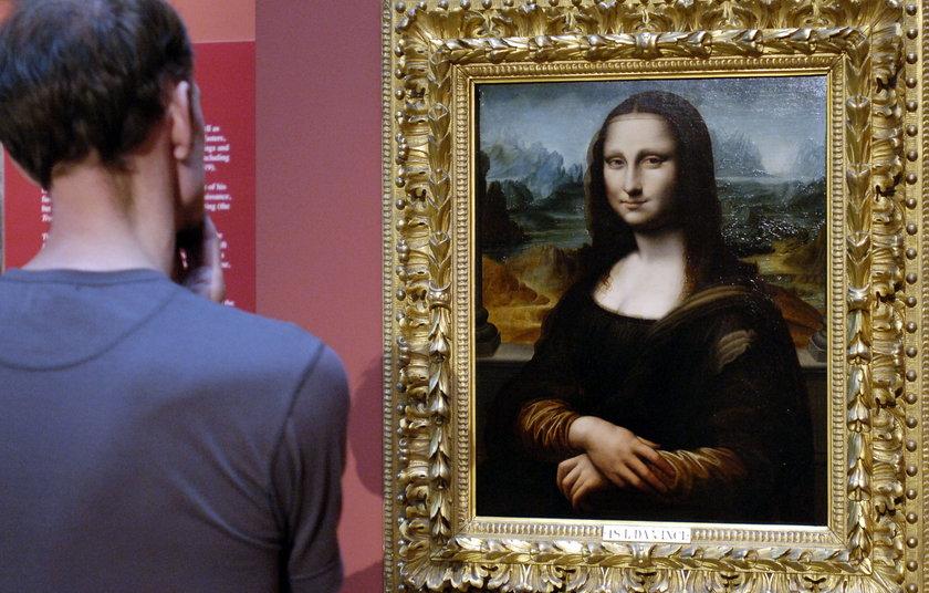 Obcy w obrazie Mona Lisy