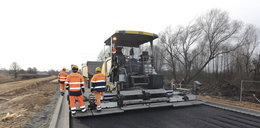 Jest asfalt na obwodnicy Leśnicy!