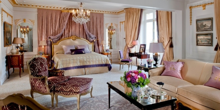 The Royal Suite w hotelu Plaza Athenee