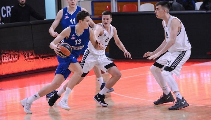 KK Mega Bemaks juniori, KK Partizan juniori