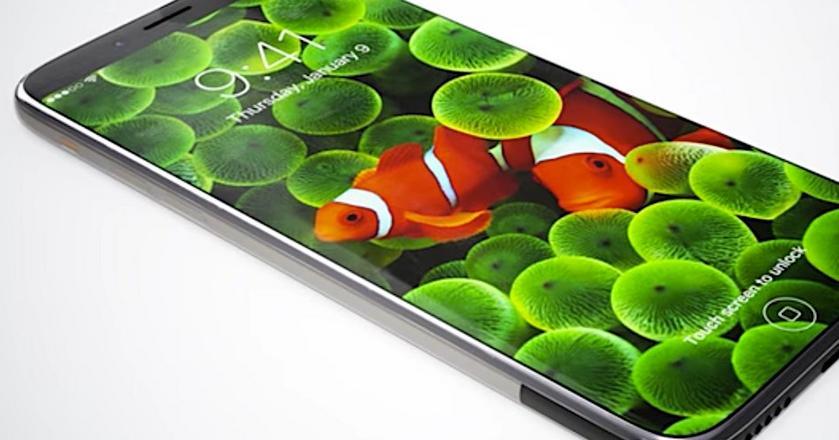 iPhone 8 z OLED - to rysunek poglądowy, przedstawia wyobrażenie fana, nie oficjalne zdjęcie od Apple