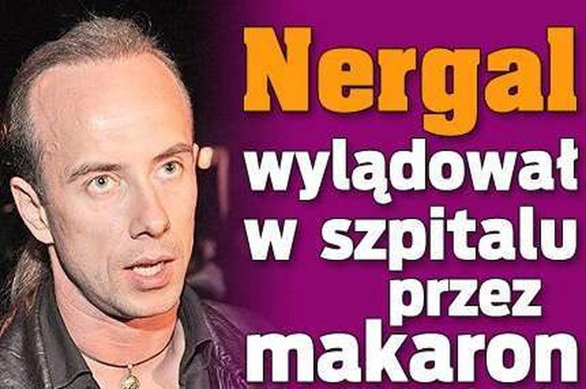 Nergal wylądował w szpitalu przez makaron