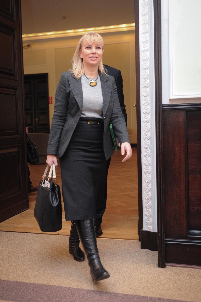 Wicepremier Bieńkowska