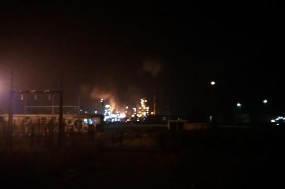 Požar u rafineriji nafte u Bosanskom Brodu