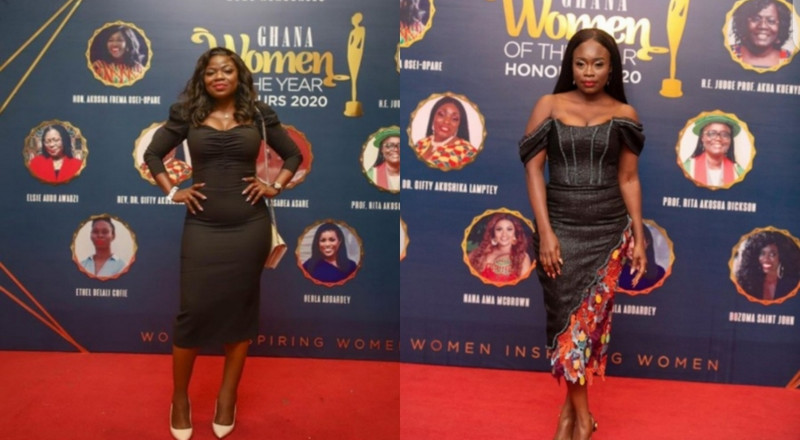 Claudia Lumor and Vim Lady were our worst-dressed celebrities at the 2020 Ghana Women of the Year Honours
