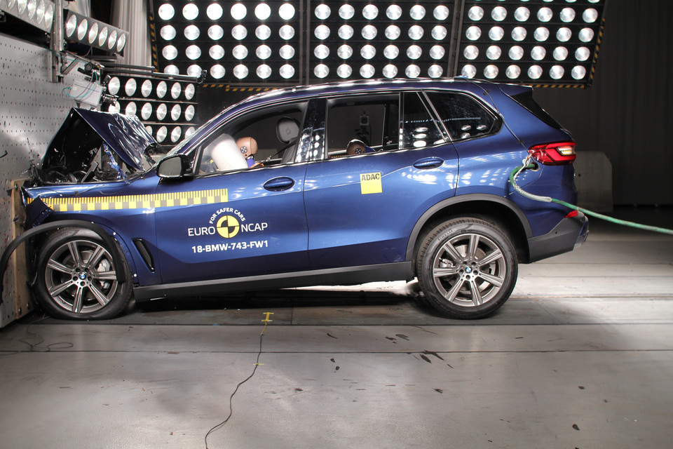 Crash-test BMW X5