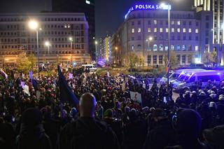 NRA zabrała głos w sprawie działań Policji podczas środowych protestów