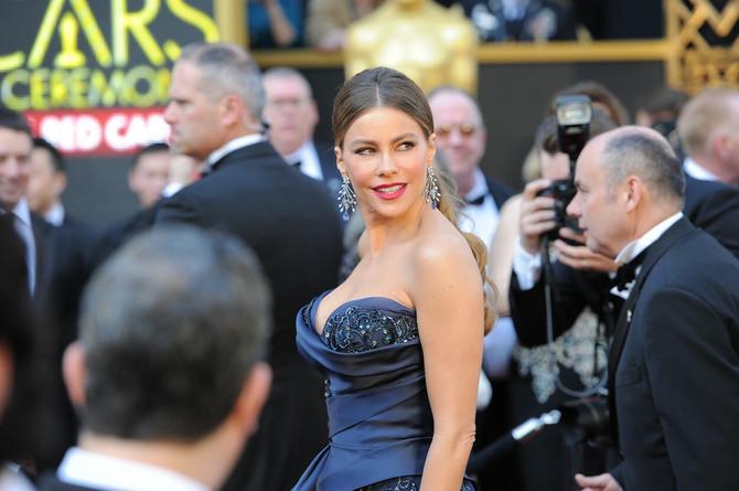 Sofija Vergara na dodeli Oskara 2016. godine