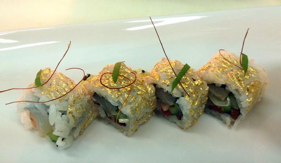 Zlatni suši: I ukusno i lepo izgleda