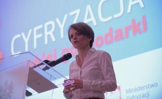 Emilewicz na konferencji DGP: Do 2025 roku ponad 12 proc. PKB ma pochodzić z usług cyfrowych