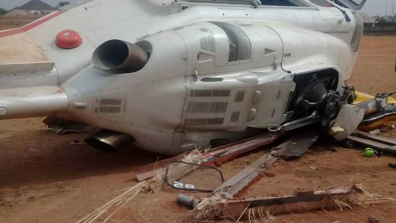 Vice-President Osinbajo's chopper crash-lands in Kogi