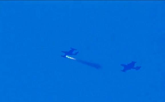 Jedan od aviona je ispalio nuklearnu raketu tipa vazduh-vazduh
