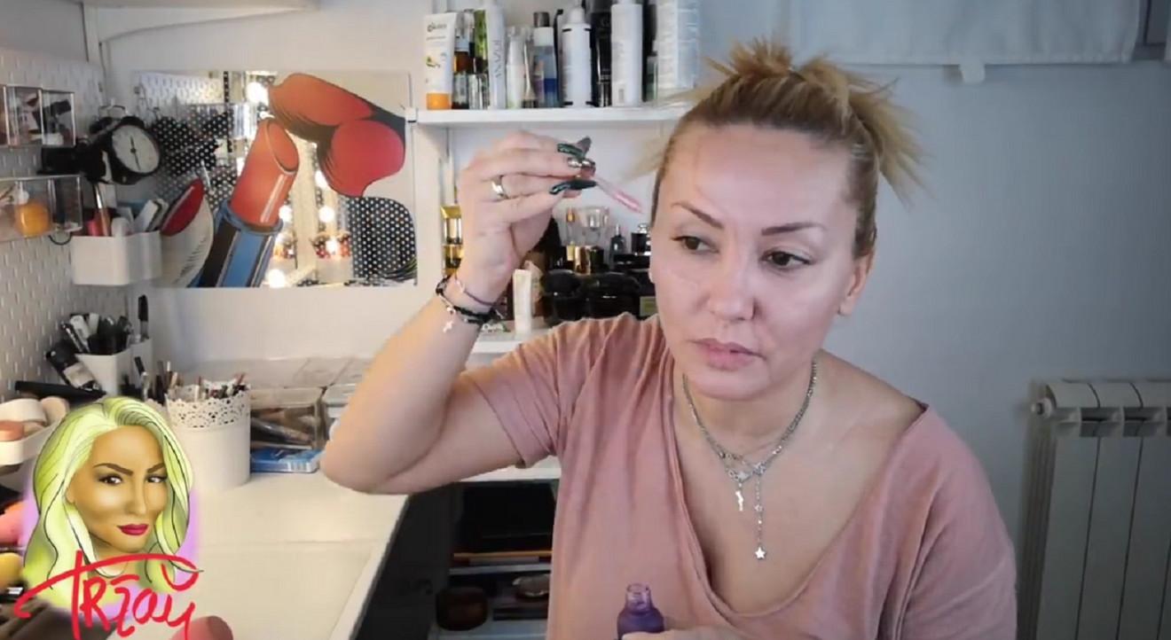 Goca Tržan i saveti o šminkanju
