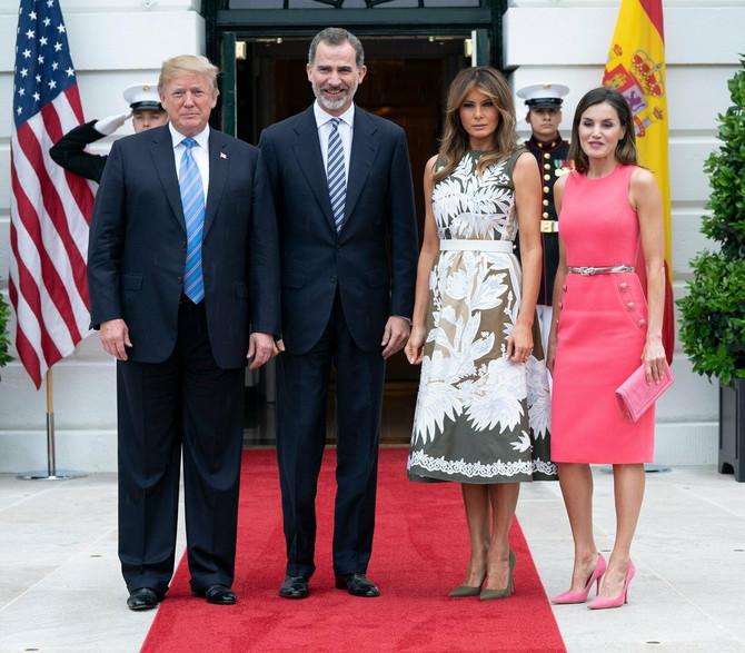 Kraljica Leticija sa suprugom u poseti Beloj kući