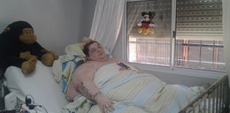 Isabella waży 490 kg. Trzeba było zniszczyć dom, by trafiła do szpitala
