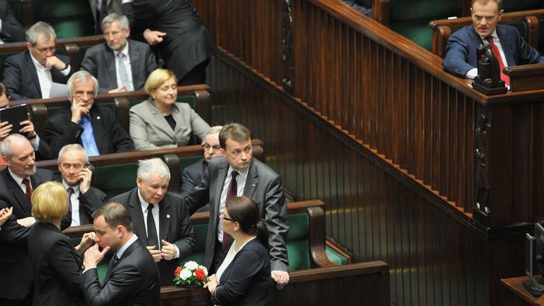 Politycy w Sejmie