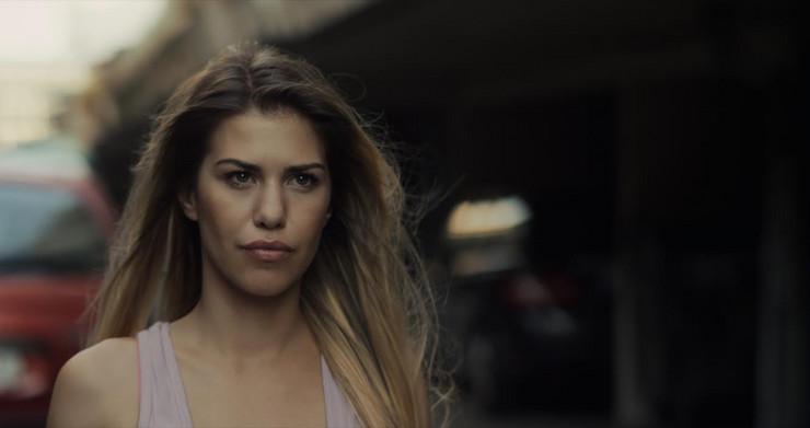 Jana Milosavljević u filmu Afterparti