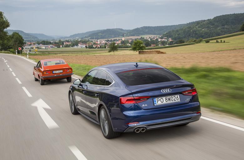 Audi A5 Sportback i Audi 100 Coupe S